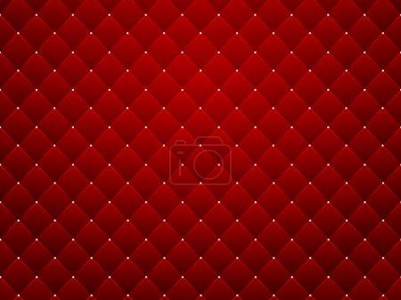 Red texture, seamless diamond pattern background -...