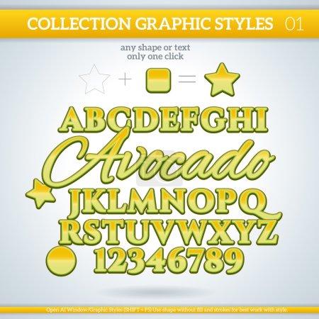 Avocado Graphic Styles
