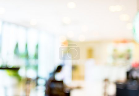 Photo for Store blur background with bokeh. - Royalty Free Image