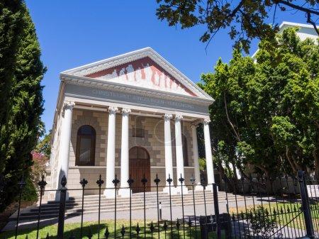 Church in Stellenbosch, Africa
