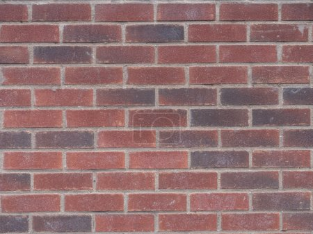 Typical red brick wall
