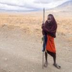 Постер, плакат: Young Maasai warrior