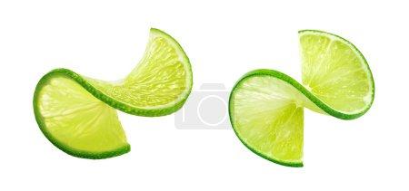 Lime slice twist