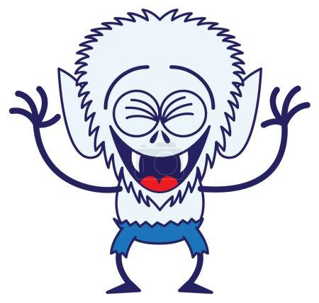 Werewolf in a very happy mood