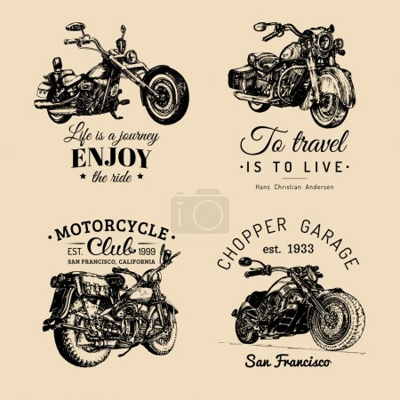 Chopper motorcycle logos