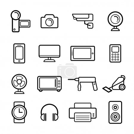 set of electrical devices