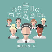 Illustration of customer service