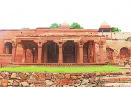 Massive Fatehpur Sikri fort and complex Uttar Pradesh India