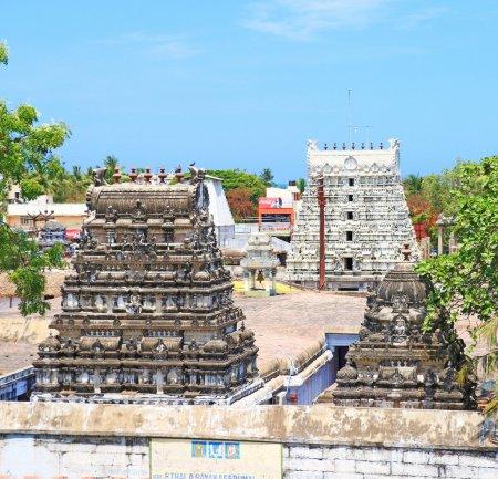 Mahabalipuram or mamallapurna rock park tamil nadu india