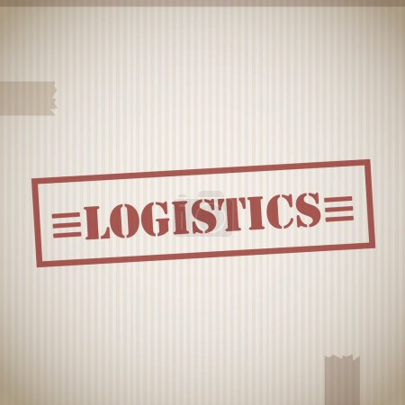 Logistics stamp