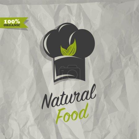 Illustration pour Vecteur de conception de restaurant alimentaire Atural - image libre de droit