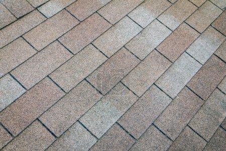 Photo pour Texture of brown roof,background - image libre de droit