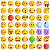 Set of Emoticons Set of Emoji Smile icons