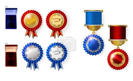 Award, medal, badge, award victory, award veterans