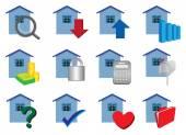 Immobilien-Symbole in Farben festlegen