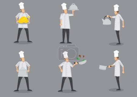 Cooking Chef Cartoon Characters