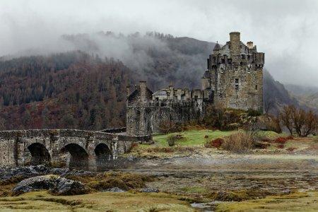 Famous Eilean Donan Castle