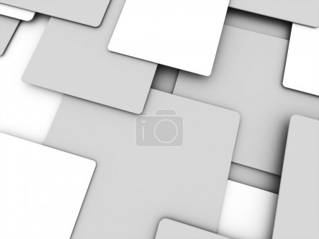 Silver abstract cubes business concept