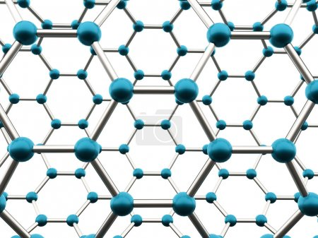 Molecular mesh tube structure