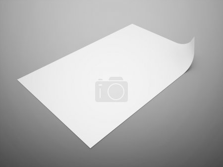 Blank paper note format