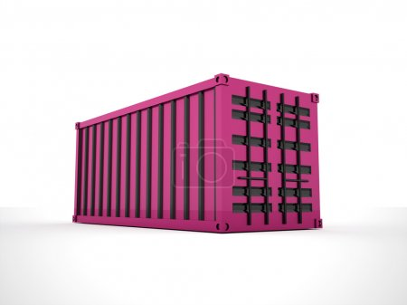 Containers concept rendered