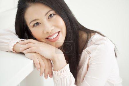 Natural Casual Asian Woman