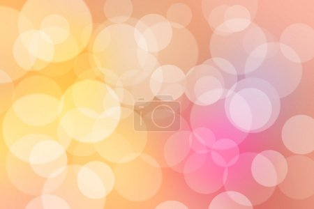 Abstract bokeh and colorful background.