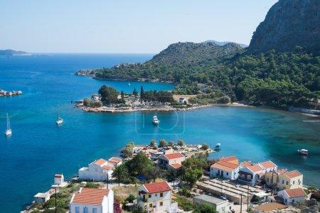 View over Greek islands