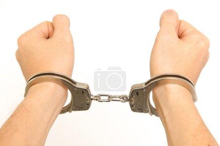 Photo pour Plan conceptuel du crime et de la justice - image libre de droit