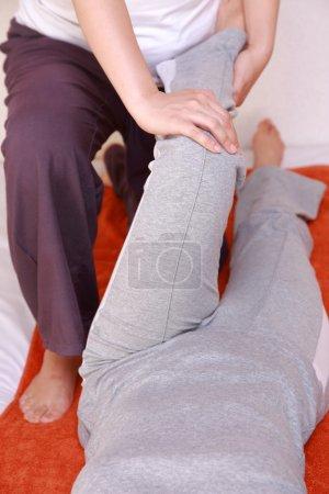 Photo pour Concept shot des soins de santé des jeunes femmes - image libre de droit