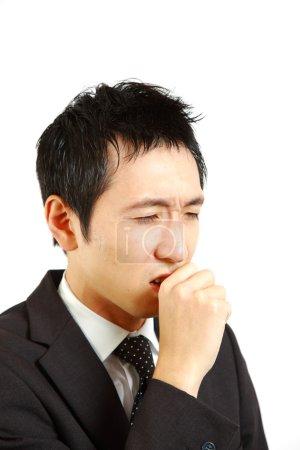 Photo pour Tir de la notion d'homme d'affaires japonais - image libre de droit
