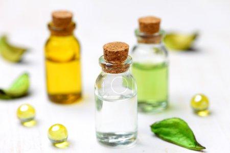 Photo pour Tir de la notion de l'aromathérapie - image libre de droit