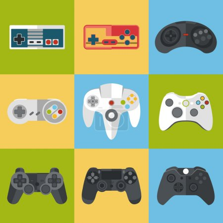 Gamepad icon set