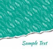 Vector illustration of ripped paper with place for your image or text