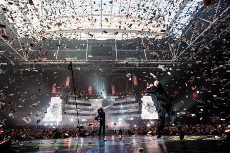 Photo for Muse performing at JC Arena, Amsterdam - Royalty Free Image