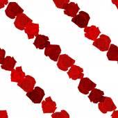 Plynulé barevné pozadí s červenou růží umístěny diagonálně