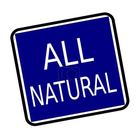 Photo pour Tous les textes de timbre blanc naturel sur fond de buleblack - image libre de droit