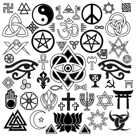 Religious and occult symbols