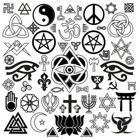 religious and occult symbols