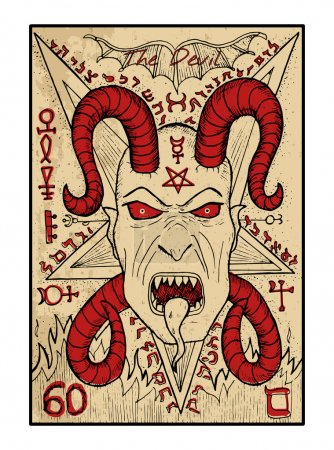 Devil tarot card