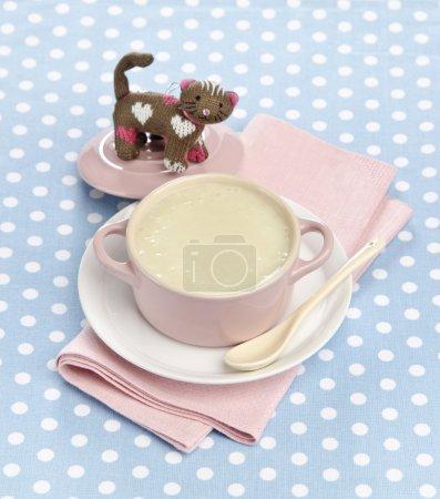 Children's mashed potato soup