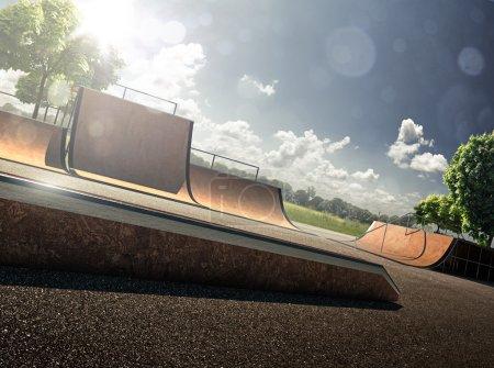 Skate park day