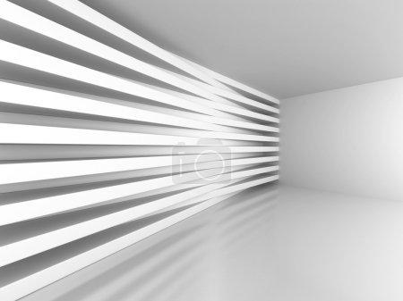 Photo pour Architecture moderne abstrait fond intérieur. Illustration de rendu 3D - image libre de droit