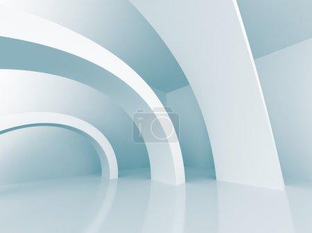 Architecture Design Futuristic 3d Background