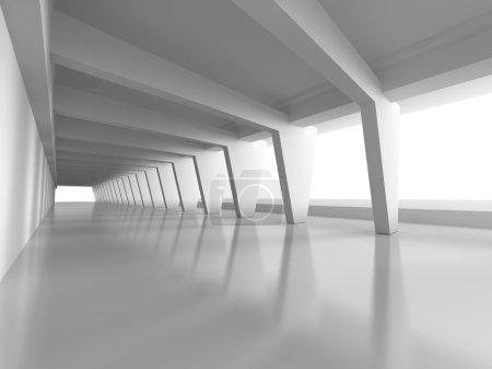 Futuristic Architecture 3d Background