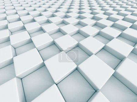White Abstract Chess Pattern