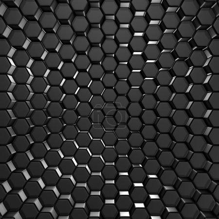 Abstract Dark Metallic Wall Background
