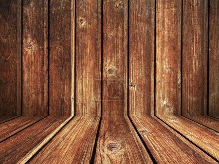 Wooden Boards Grunge Texture