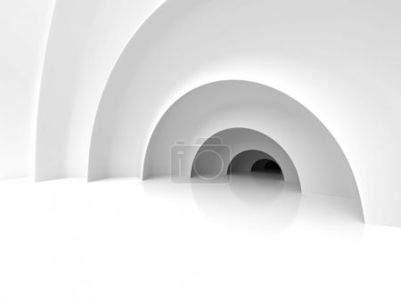 Abstract Architecture Tunnel