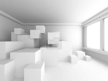 Modern Interior Background.